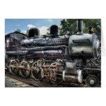 385 - Locomotora de la consolidación de Baldwin 2- Tarjetón