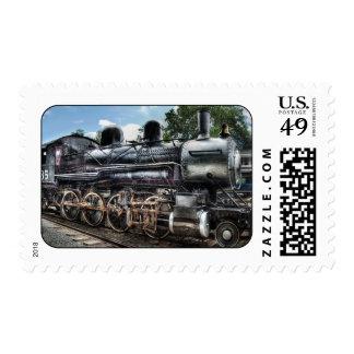 385 - Locomotora de la consolidación de Baldwin Sellos