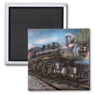 385 - Train - Steam - 385 Fully restored 2 Inch Square Magnet