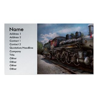 385 - Train - Steam - 385 Fully restored Business Card Template