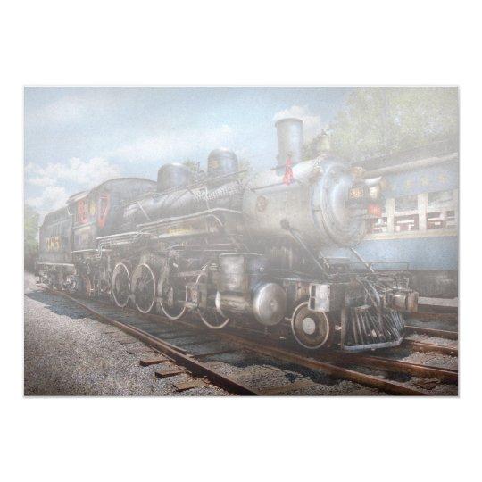 385 - Train - Steam - 385 Fully restored Card