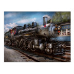 385 - Train - Steam - 385 Fully restored Postcard