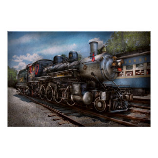 385 - Train - Steam - 385 Fully restored Poster