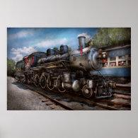 385 - Train - Steam - 385 Fully restored Print