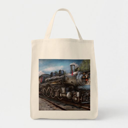 385 - Tren - vapor - 385 restaurados completamente Bolsa De Mano