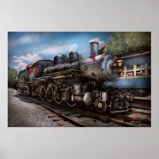 385 - Tren - vapor - 385 restaurados completamente Posters