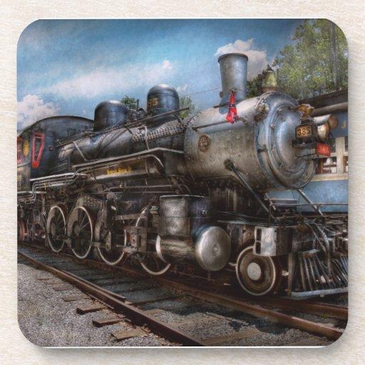 385 - Tren - vapor - 385 restaurados completamente Posavasos