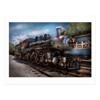 385 - Tren - vapor - 385 restaurados completamente Postal