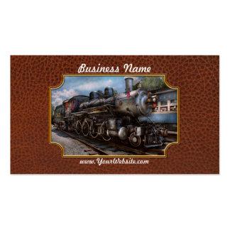385 - Tren - vapor - 385 restaurados completamente Tarjetas De Visita