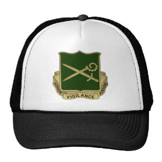385th MP Battalion Crest Trucker Hat