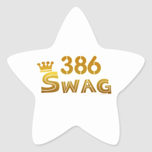 386 Florida Swag Stickers