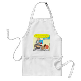 387 fundraising in jail cartoon adult apron