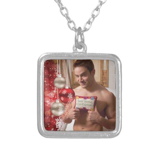 38886B-RA Chris Rockway Christmas Silver Plated Necklace