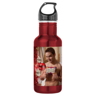 38886B-RA Chris Rockway Christmas Stainless Steel Water Bottle