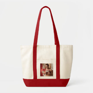 38886B-RA Chris Rockway Christmas Tote Bag