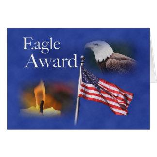 3891 Eagle Montage Card