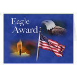 3891 Eagle Montage Greeting Card