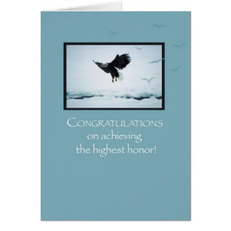 3892 Eagle Top of Clouds Card