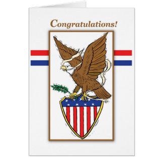 3898 Eagle Emblem Card