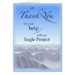 3898 Thank You Eagle Project Greeting Card