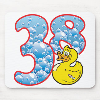 38 Age Duck Mouse Pad