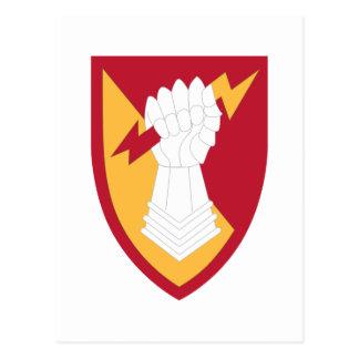38 Air Defense Artillery Brigade Postcard