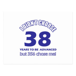 38 años de adelanto postal