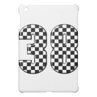 38 auto racing number iPad mini case