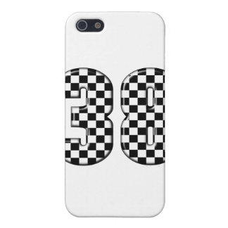 38 auto racing number iPhone SE/5/5s cover