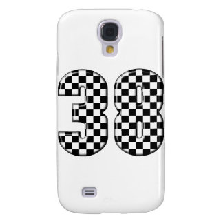 38 auto racing number samsung galaxy s4 case