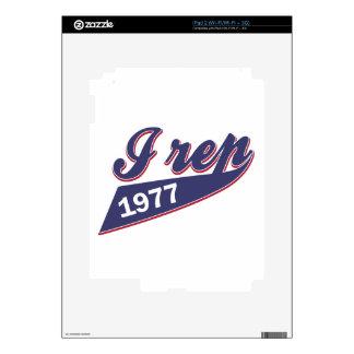 38 birthday design iPad 2 skin