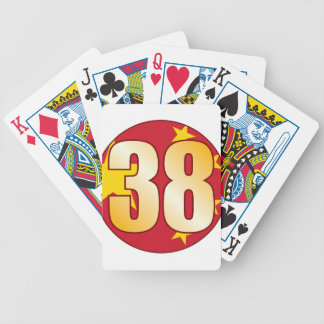 38 CHINA Gold Bicycle Playing Cards