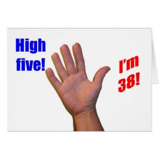 38 High Five! Greeting Card