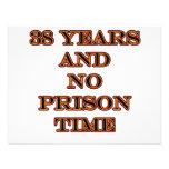 38 No prison time Custom Invites