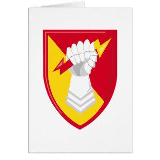 38.o Brigada de la artillería de la defensa aérea Tarjeta De Felicitación