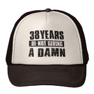 38 years trucker hat