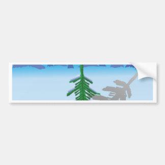 38green fir bumper sticker