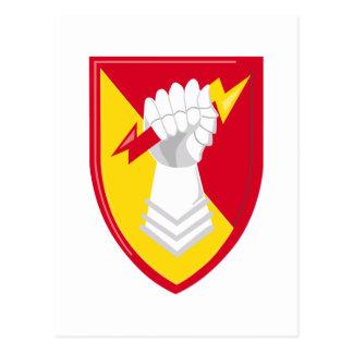 38th Air Defense Artillery Brigade Postcard