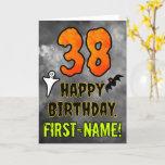 [ Thumbnail: 38th Birthday: Eerie Halloween Theme + Custom Name Card ]