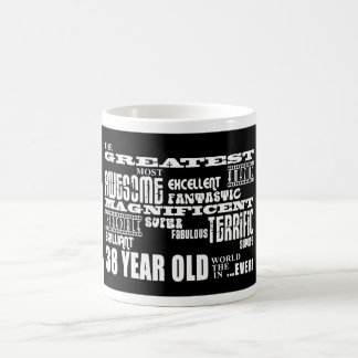 38th Birthday Party Greatest Thirty Eight Year Old Coffee Mug