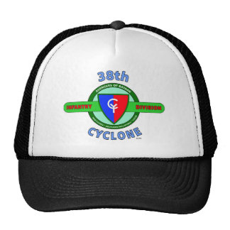 """38TH INFANTRY DIVISION """"CYCLONE"""" TRUCKER HAT"""