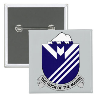 38th Infantry Regiment - The Rock Of The Marne Pinback Button