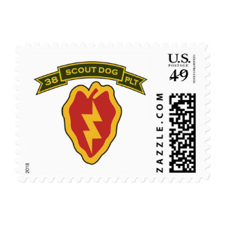 38th IPSD - 25th Infantry Postage Stamp