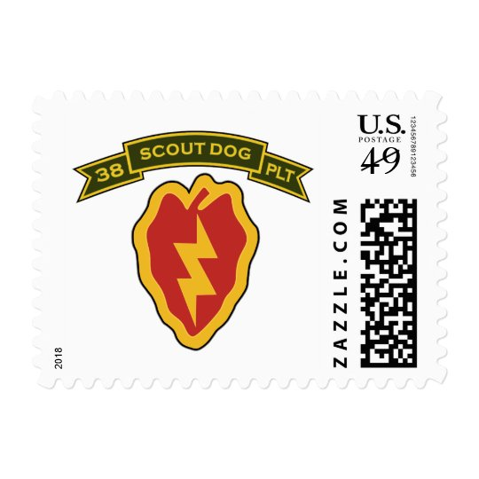 38th IPSD - 25th Infantry Stamp