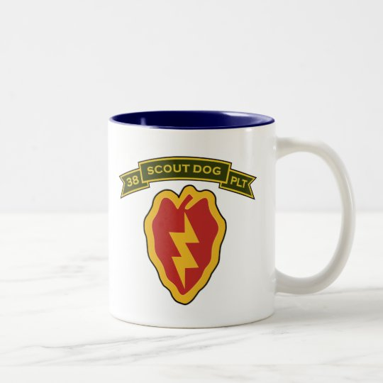 38th IPSD - 25th Infantry Two-Tone Coffee Mug