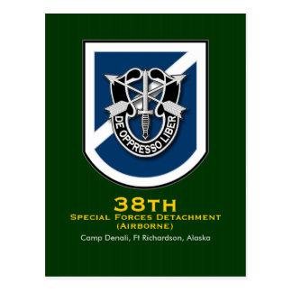 38th SFC-A 1 Postcard