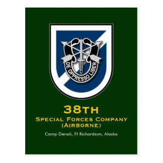38th SFC-A 2 Postcard