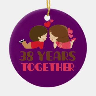 38th year wedding anniversary