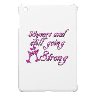 38th wedding anniversary iPad mini cases