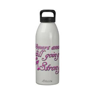 38th wedding anniversary reusable water bottles